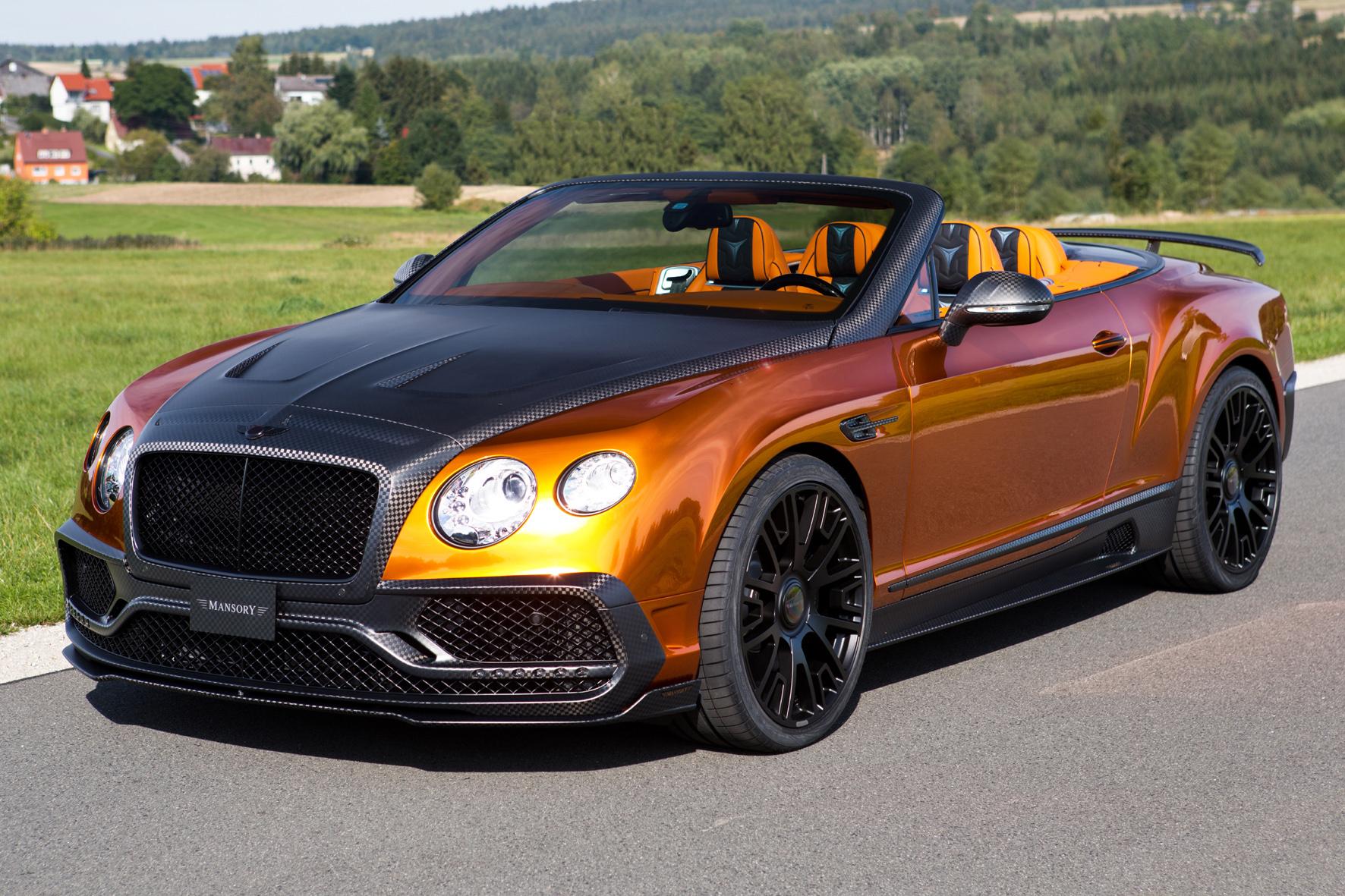 Bentley Gtc Mansory Automagazin At