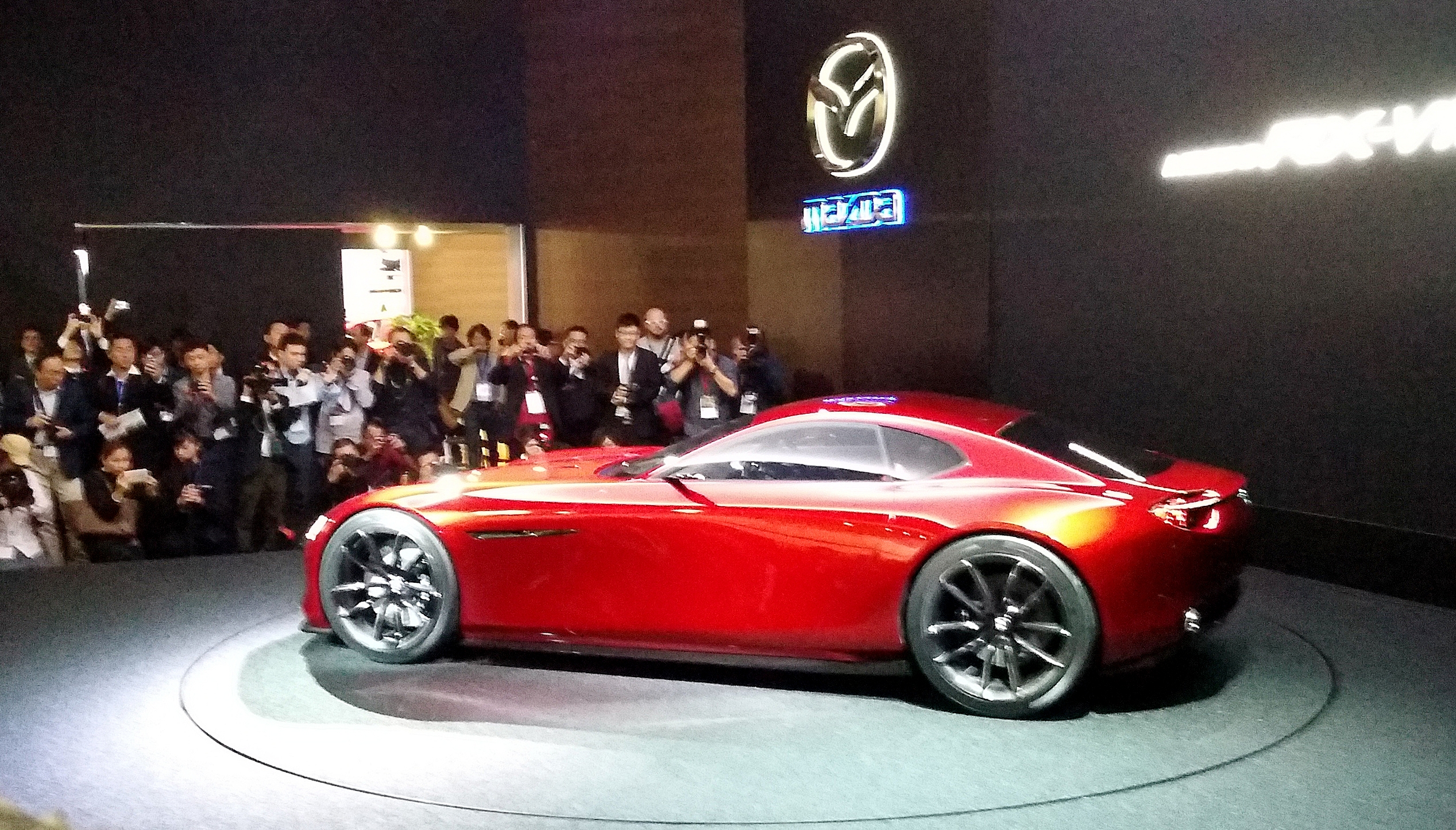 Mazda RX-Vision: Erstmals in Europa - automagazin.at
