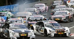 #51 Nico Müller, Audi RS5 DTM, #31 Tom Blomqvist, BMW M4 DTM