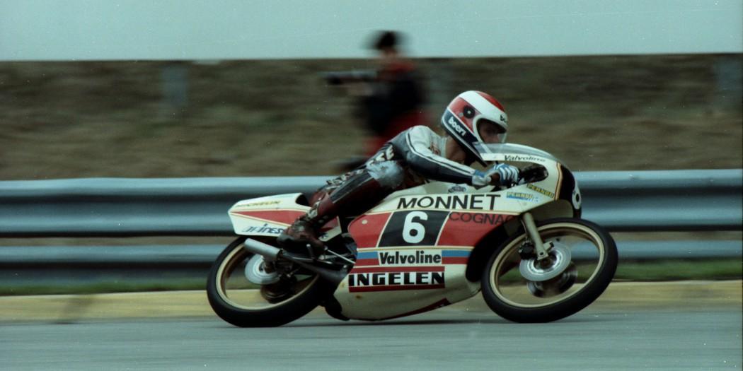 Motorrad WM 1982 Salzburgring Gustl Auinger © Josef Mayrhofer