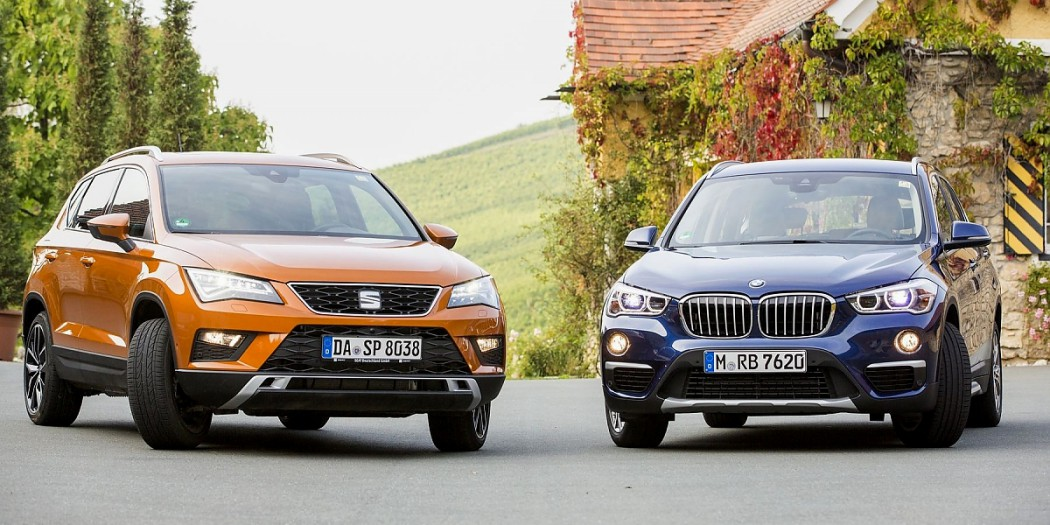 SUV-Duell Seat Ateca vs. BMW X1