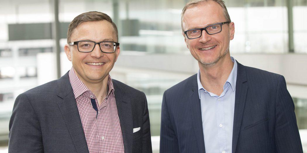 Benedikt Margreiter (links) und Thomas Führer (rechts)