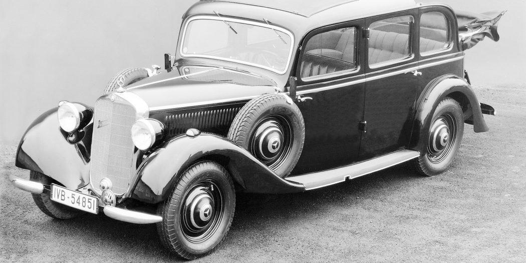 Erster Serien-Pkw mit Dieselmotor: Mercedes-Benz 260 D, 1936