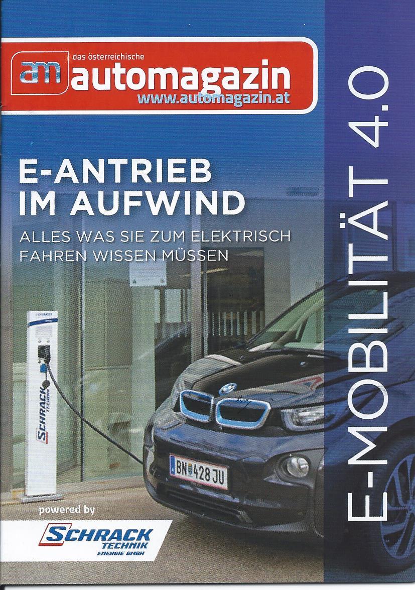 BIG RIGHT – automagazin Werbung Booklet Schrack
