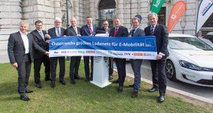 Elf Energieunternehmen starten Ladenetz für Elektromobilität