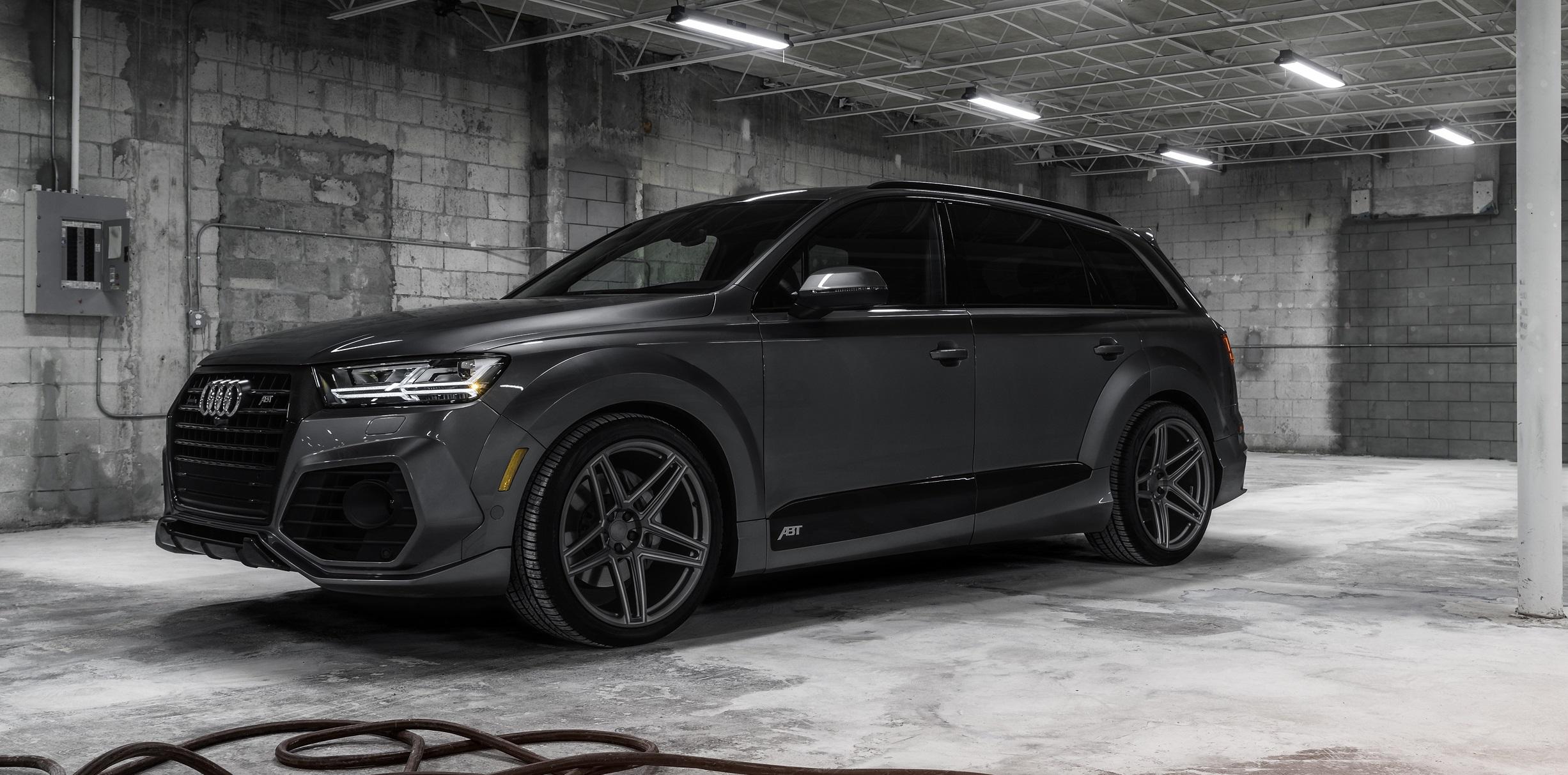 Ultimativer Audi Q7 von Abt und Vossen Wheels