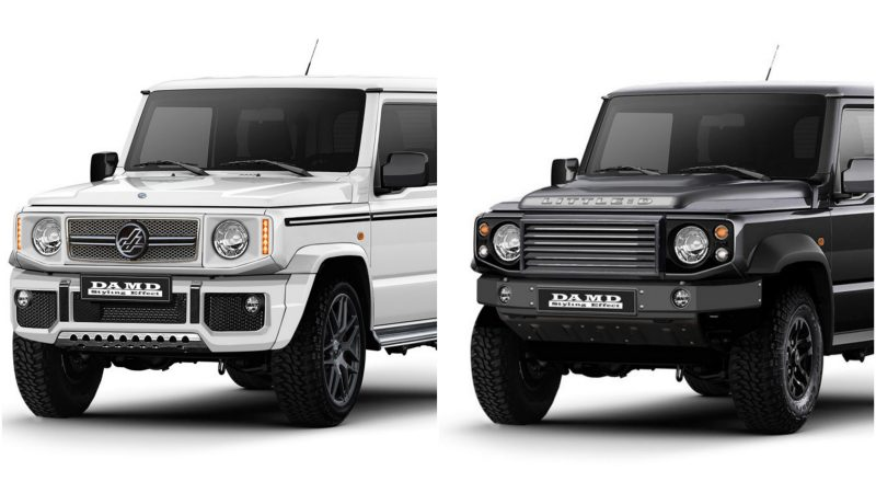 japan tuner macht jimny zu g klasse oder defender. Black Bedroom Furniture Sets. Home Design Ideas